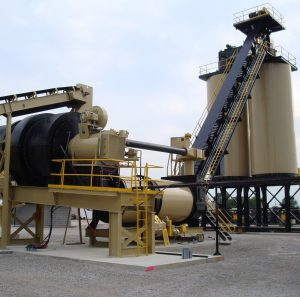 ALmix Duo Drum Counter Flow Plant